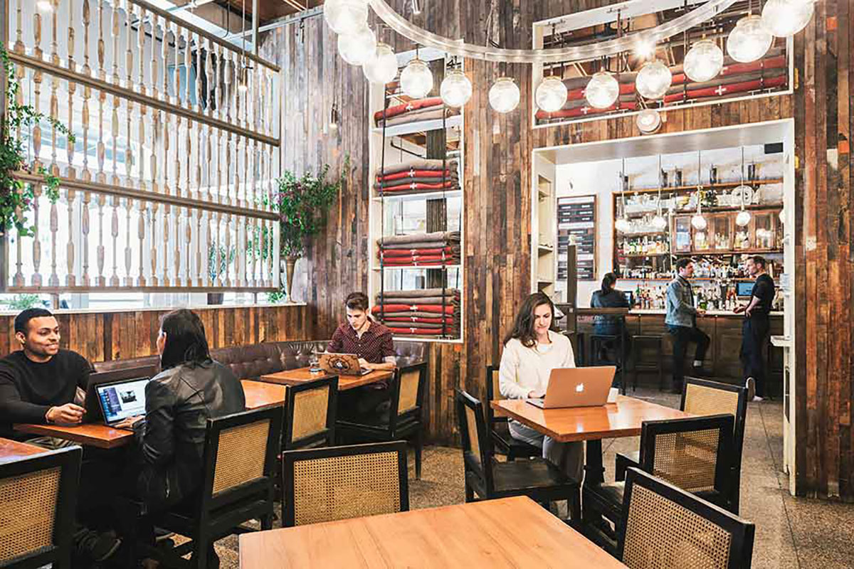 Benefits offered by coworking spaces to new businesses