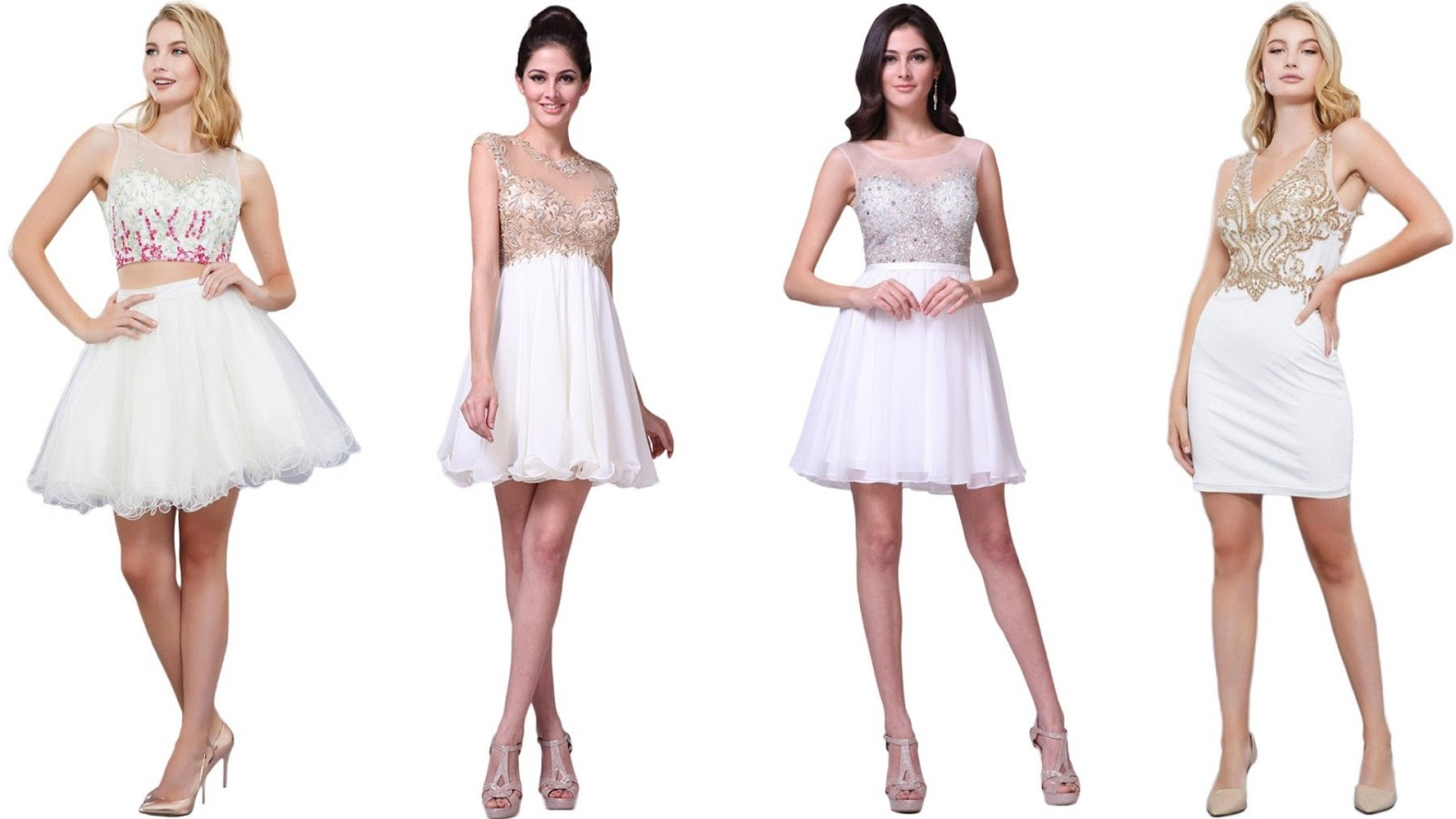 Closet Goals - A Short White Dress for Every Affair