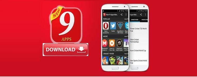 Steps To Download 9apps On Android Device