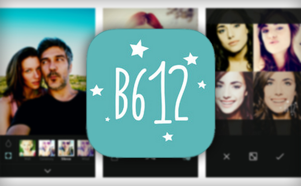 Take Selfies With Real-Time Effects From B612 App