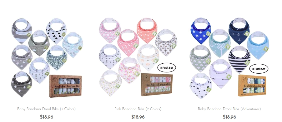 Use Baby Bandana Bibs to Keep Your Kin Clean & Comfortable