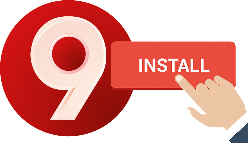 All About the 9Apps install