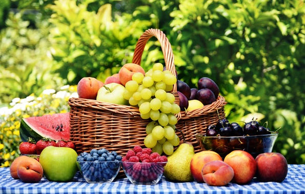 Send a basket full of fresh fruits as a token of love to Pakistan