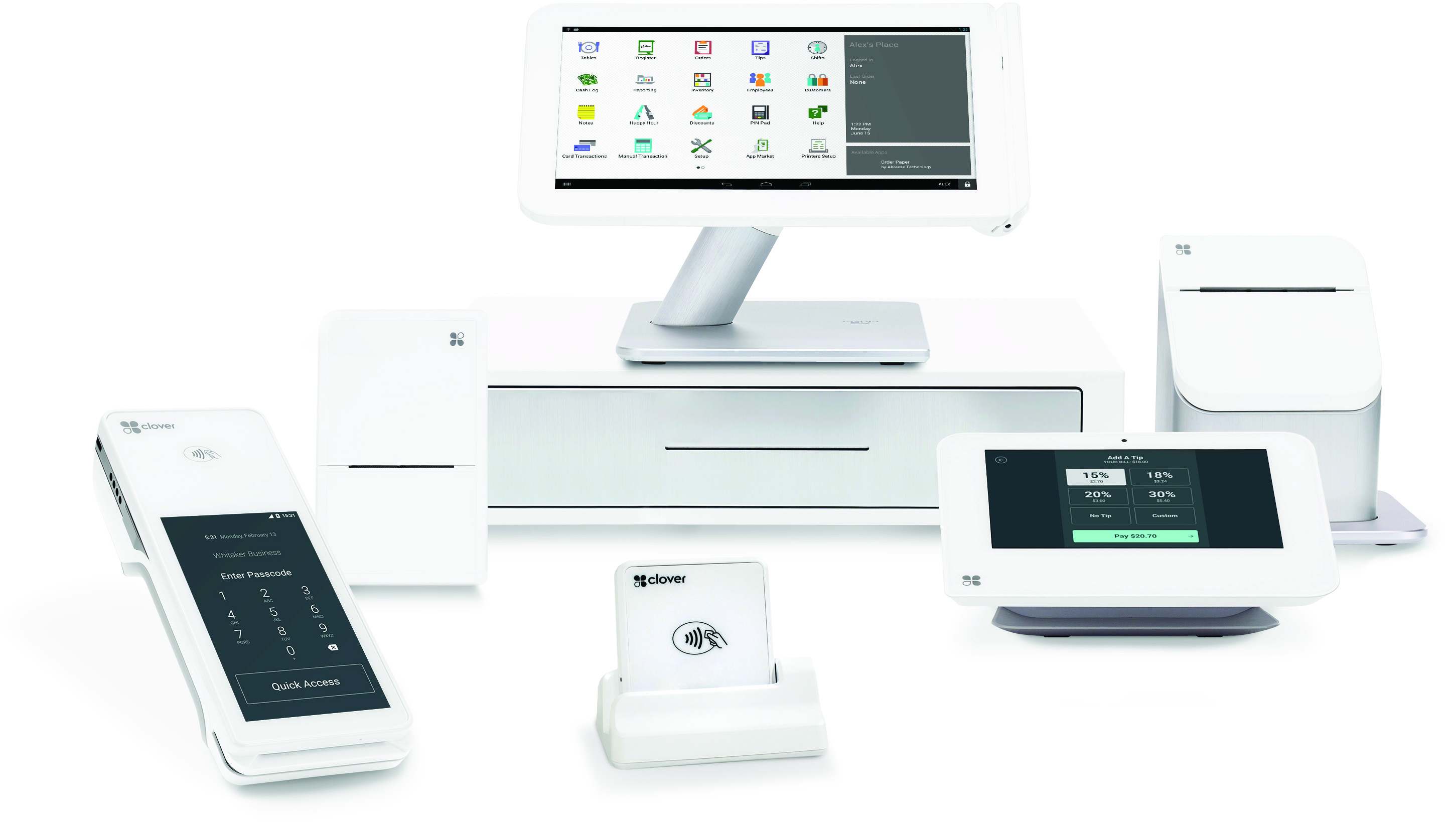 Best Uses of the Clover Point of Sale System