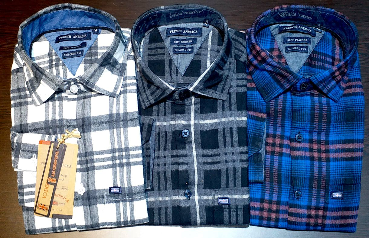 Buy the best and high-quality shirts from readymade shirt manufacturers in India