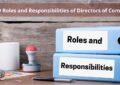 Responsibility of Directors